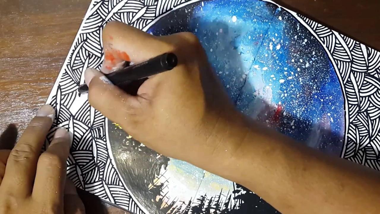 Download Video Lukis Galaxy Untuk Begron Kaligrafi Kontemporer