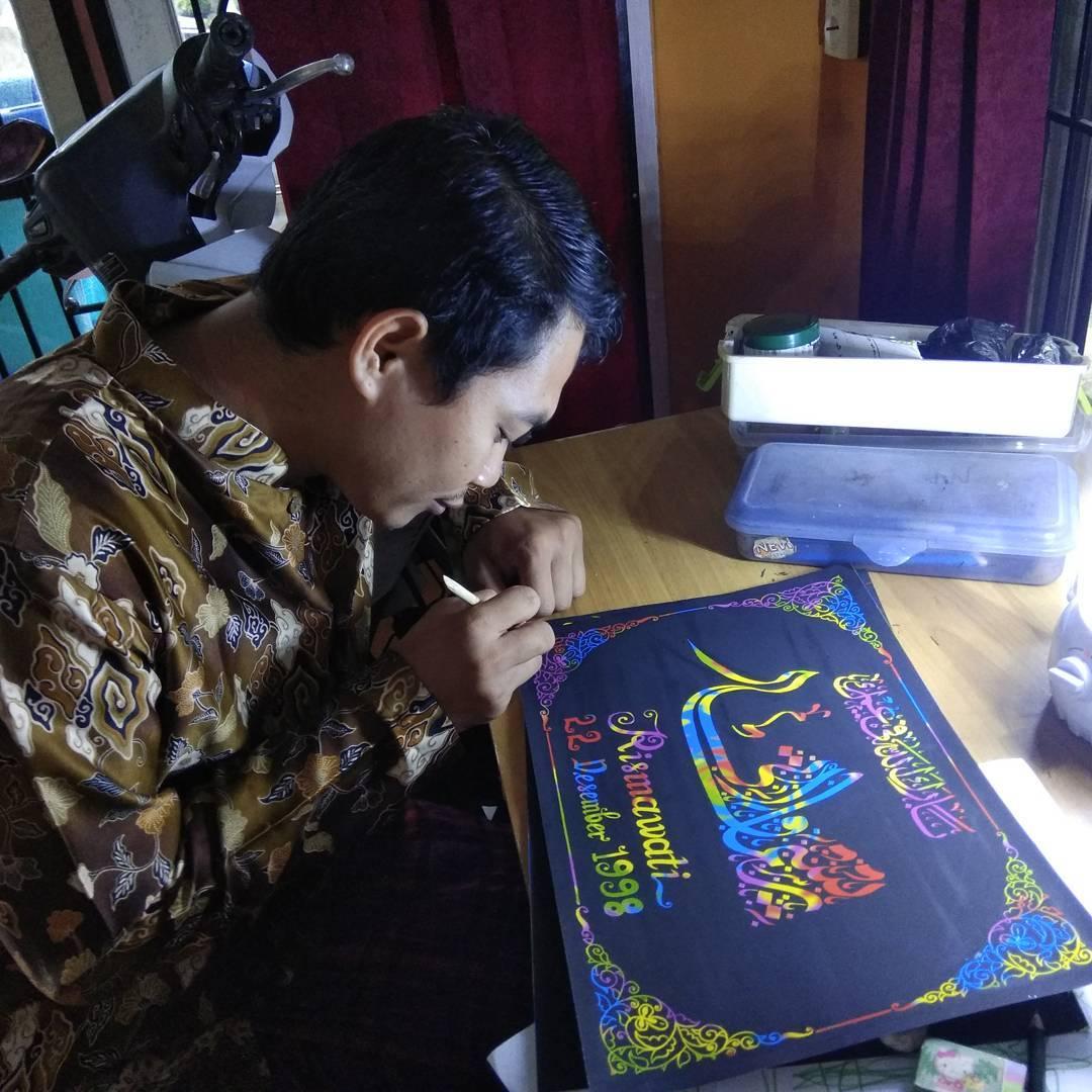 Donwload Photo Kaligrafi #kaligrafinama…- Syamsul PKA Lemka