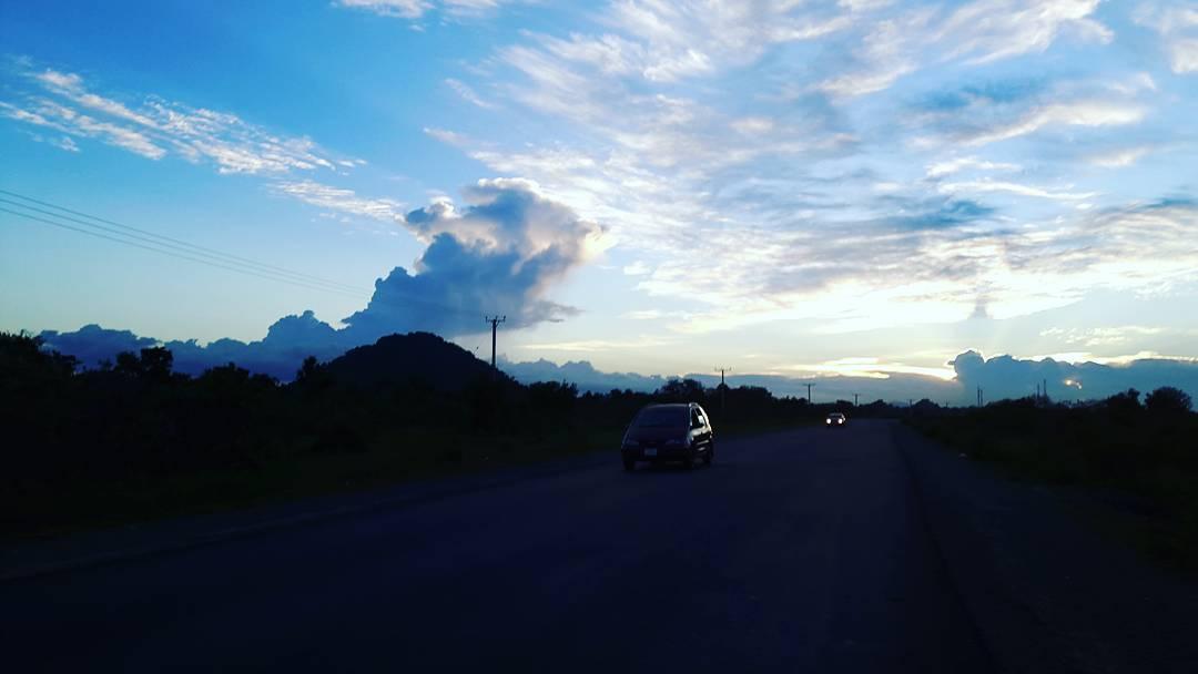 Donwload Photo Khat Unik Sunset along Guma-Bauchi highway (My home town) 6th September  2016… – Yushaa Abdullah