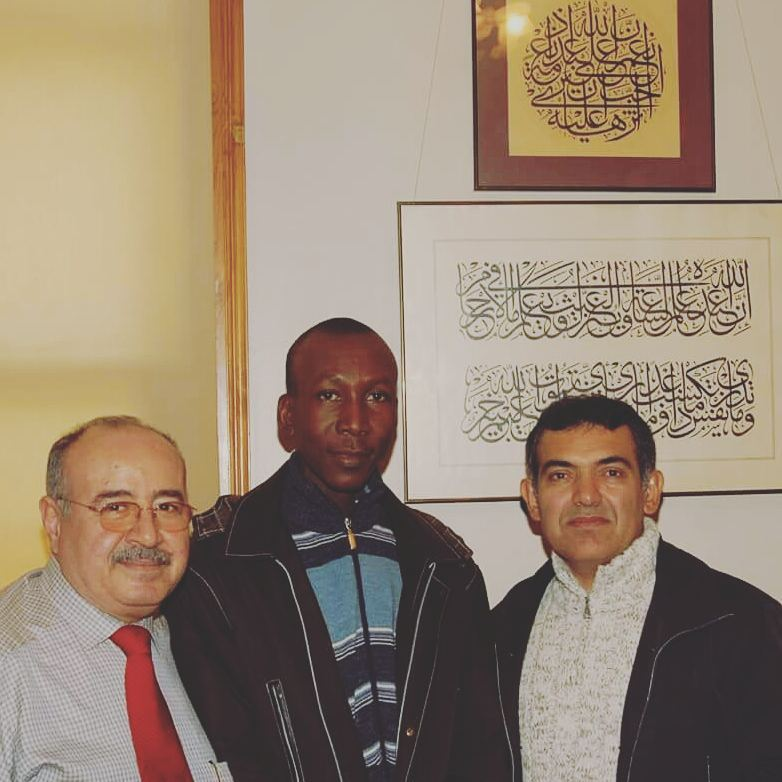 Donwload Photo Khat Unik The first day  I was introduced to Hattat Davut Bektaş by Mohammed  Tamimi at IR… – Yushaa Abdullah
