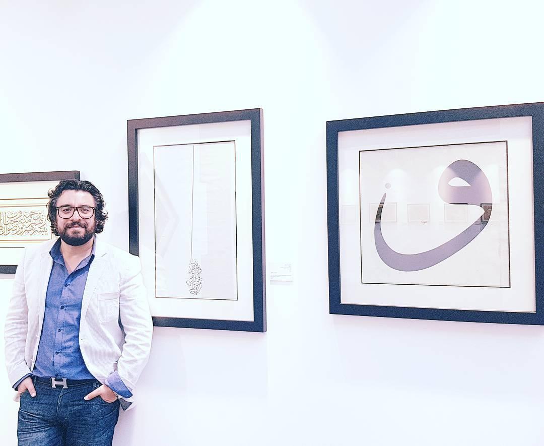 Karya Kaligrafi العيد ياتي بعد الرمضان مباشرة … لمعلوماتكم…- Sabah Arbilli