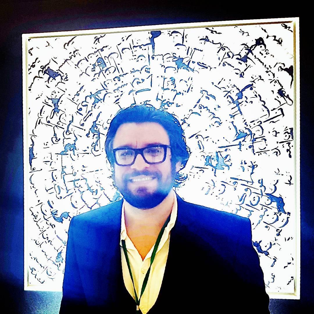 Karya Kaligrafi Chaos…- Sabah Arbilli