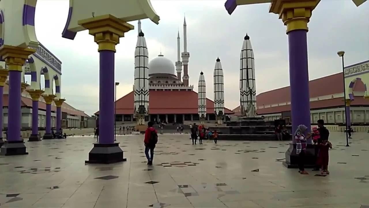 Download Video Masjid Agung Jawa Tengah Masjid Terindah Di Kota