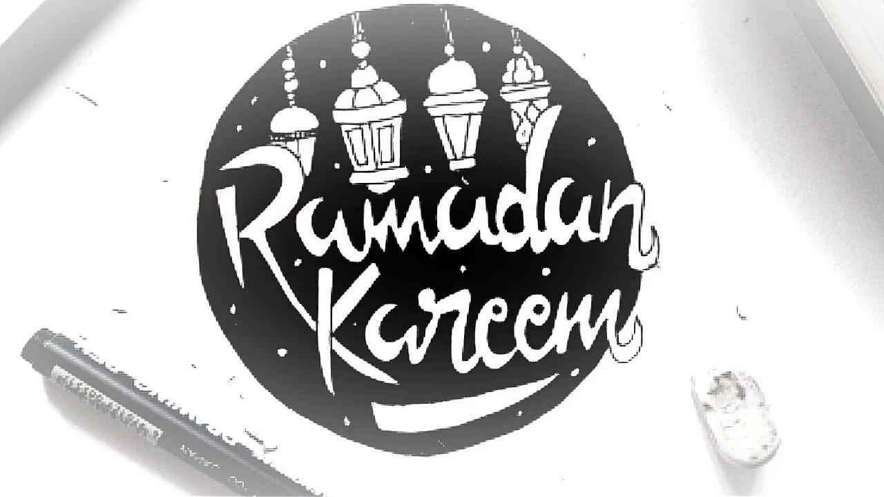 "Download Video Step by step hand lettering ""Ramadan Kareem"" 2"