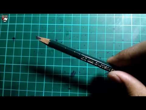 Download Video Cara mengubah pensil biasa menjadi pensil kaligrafi