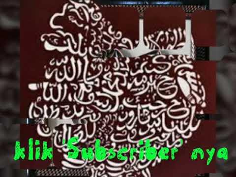 Download Video Contoh Kaligrafi Arab Bentuk Kyai Semar