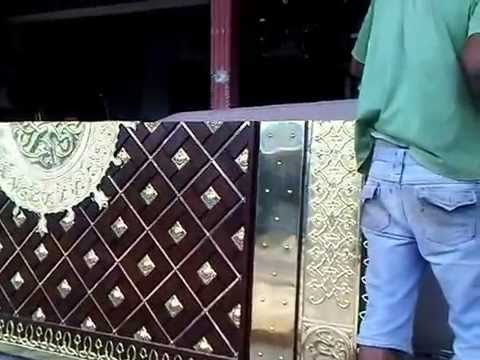 Download Video Pintu Masjid, Pengrajin Pintu Nabawi, Membuat pintu nabawi ( Mosque Door ) 2