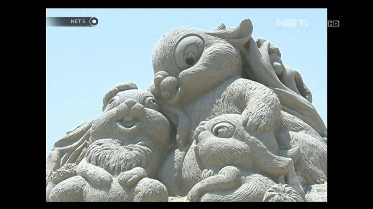 Download Video NET5 - Festival Seni Ukir Pasir Cina 1