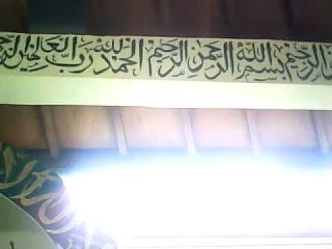 Download Video Kaligrafi Islam (Al Fatikhah dan Tiga Surat) 1