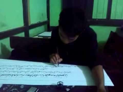 Download Video Lomba Kaligrafi Cabang Naskah Tingkat Kabupaten Part 5 3