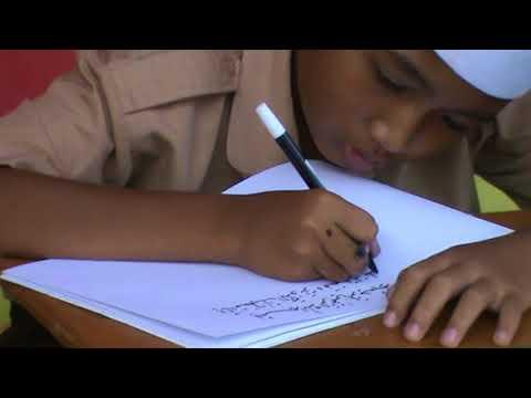 Download Video Menulis Khat Naskhi  WAFA oleh SATRIO JULIO PRANATA SDIT Al Uswah Jatirogo Tuban 4
