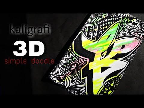 Download Video Kaligrafi 3d muhammad doodle/kaligrafi batik -shint