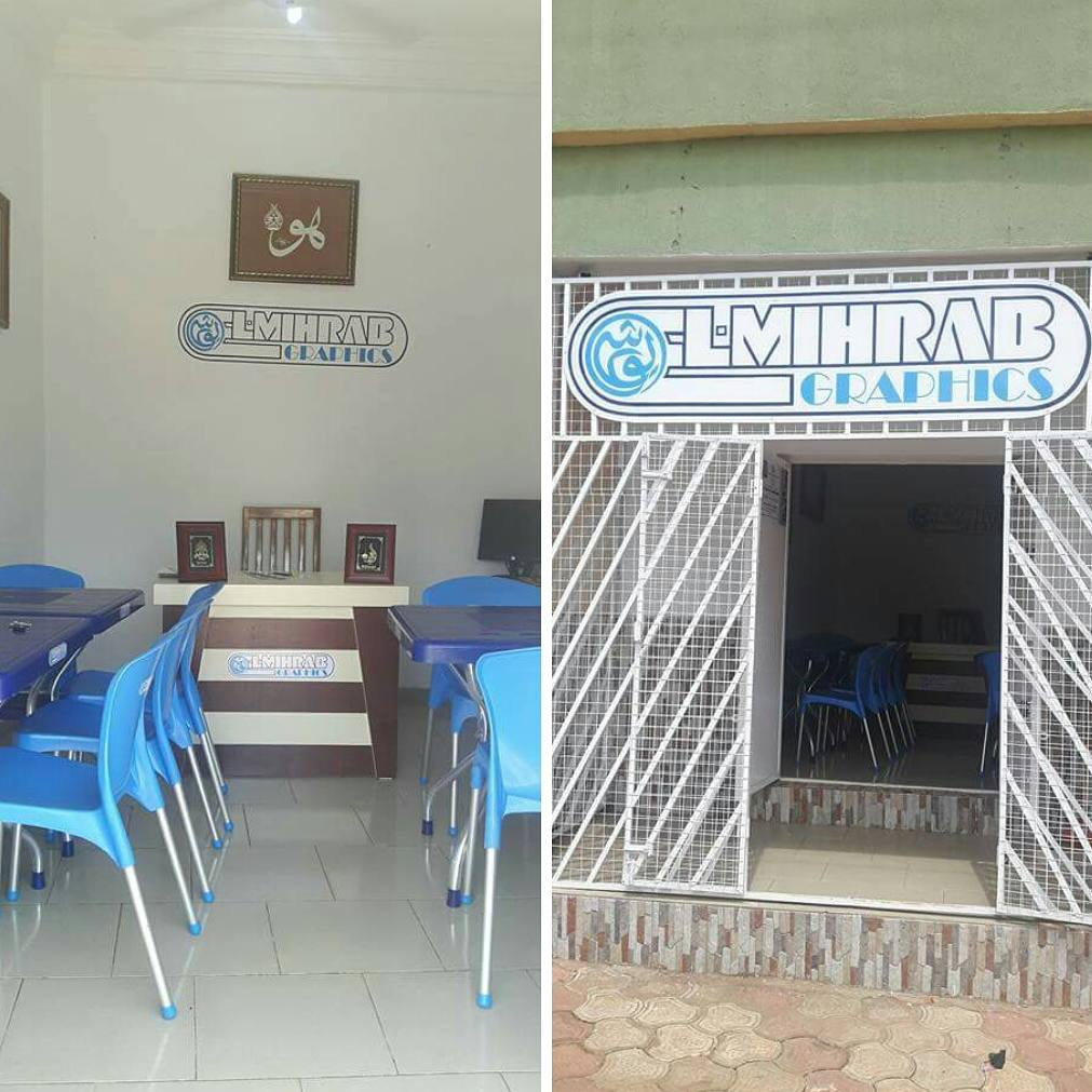 Donwload Photo Khat Unik Islamic Calligraphy Classroom, Badarawa Main Street, Kaduna, Nigeria…. – Yushaa Abdullah