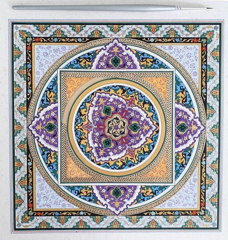 @f.boroomandsaleh ================================ Buy Art supplies  Link in bio... 7