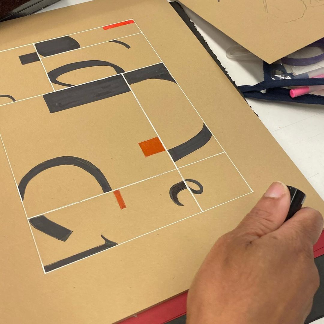 Download Kaligrafi Karya Kaligrafer Kristen Calligraforms workshop in NY is about finished and students are hands on complet...-Wissam 7