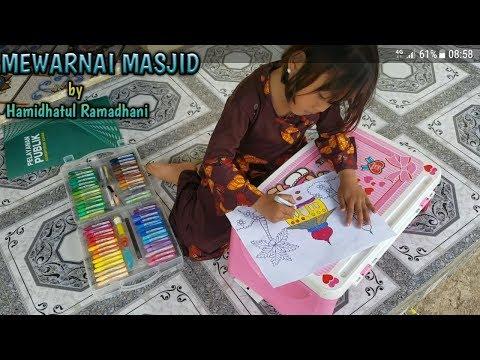 Download Video Belajar mewarnai gambar masjid By Hamidhatul Ramadhani
