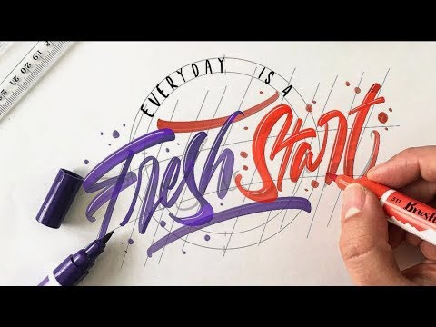 Download Video SATISFYING CALLIGRAPHY VIDEO COMPILATION ( The Best Brush Pen Calligraphy )