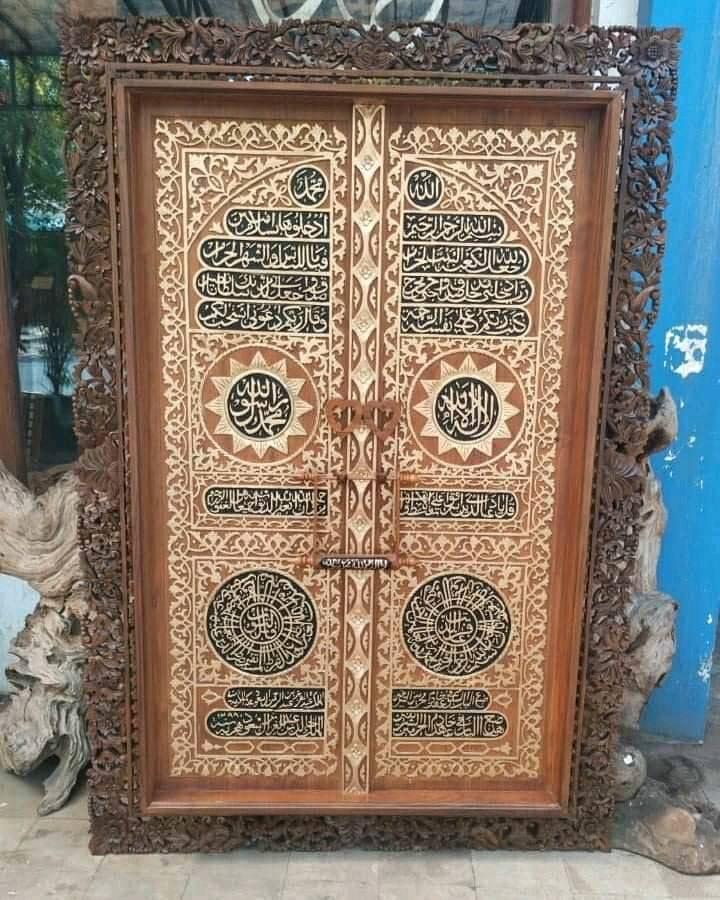 Download kaligrafi jati pintu kakbah