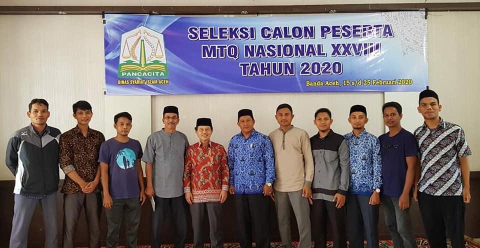 Dengan seleksi dan evaluasi, Aceh siap bertarung pada MTQ Nasional XXVIII/2020 d…
