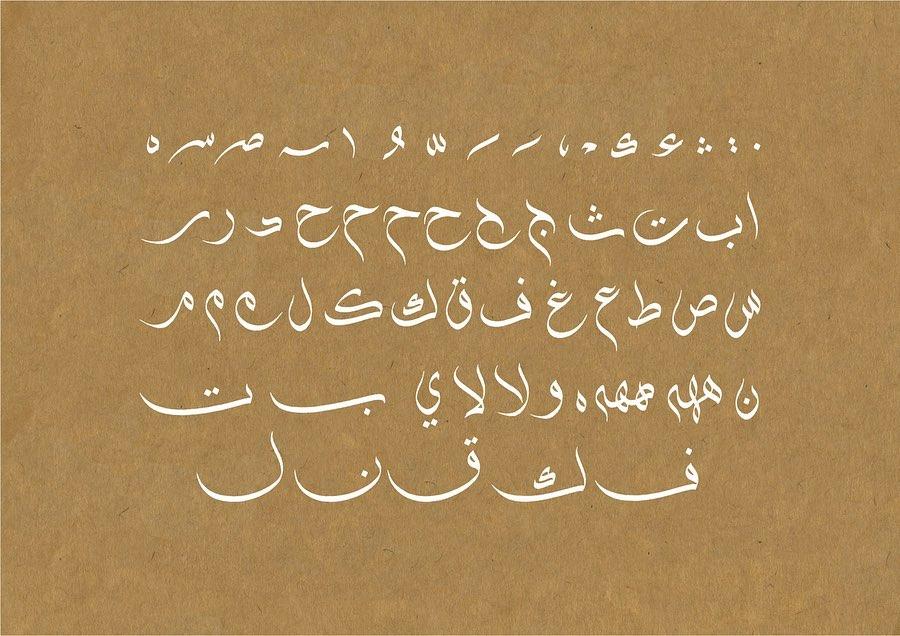 Download Kaligrafi Karya Kaligrafer Kristen الأبجدية وبعض الامشاق والاتصالات في خط  الوسام. #alwissamstyle #alwissamscript #…-Wissam