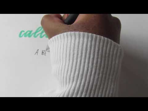 Download Video A Basic Guide to Calligraphy