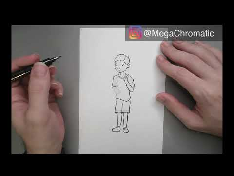 Download Video Calligraphy Marker Drawing Inking (Realtime)