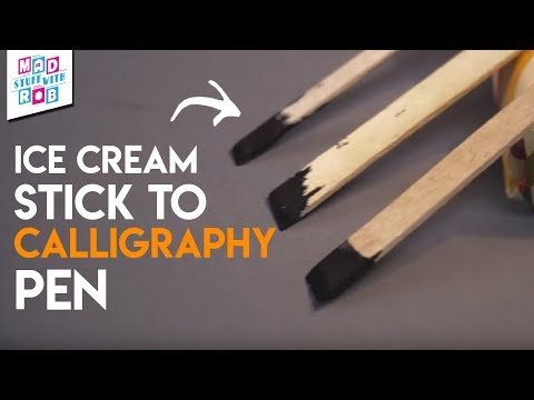 Download Video Easy Hack To Make Calligraphy Pens | MSWR Shorts