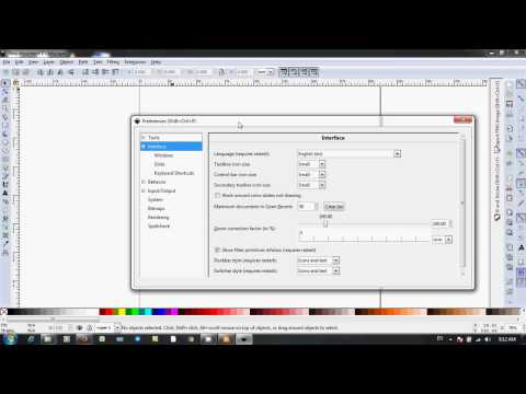 Download Video INKSCAPE | Cara Ganti Interface Bahasa