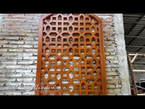 Download Video MANAF FURNITURE : Ornamen Arab – Ornamen Hiasan Dinding – Mihrab – Hiasan Dinding – Mihrab Musholla