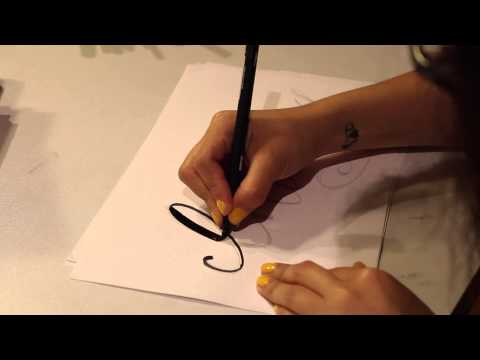 Download Video Modern Calligraphy Tutorial – Cat Caudillo