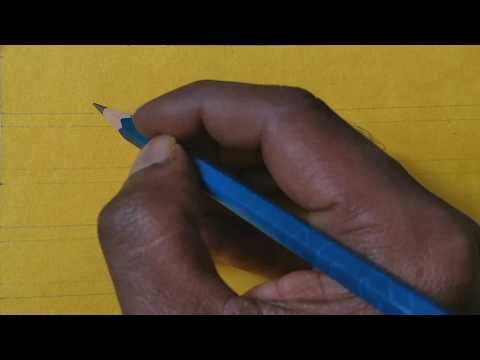 Download Video Pencil calligraphy | beautiful writing with the help of pencil | how to