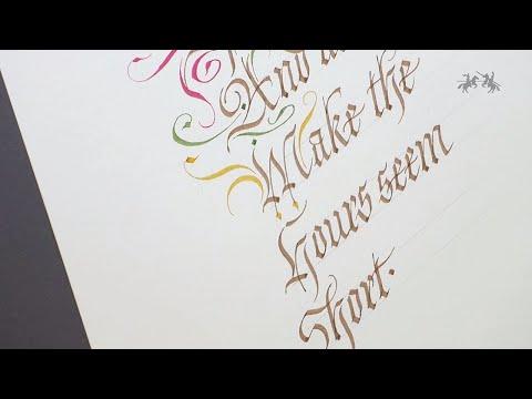Download Video Pitt Artist Pen Calligraphy – Colours