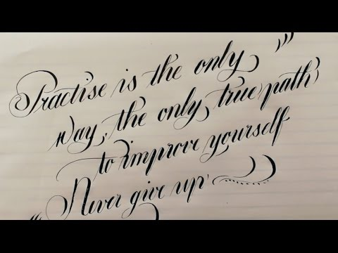 Download Video Relaxing calligraphy