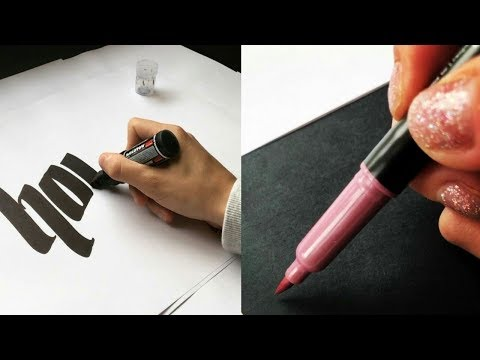 Download Video SATISFYING CALLIGRAPHY VIDEO The Best Calligraphers