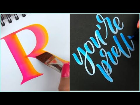 Download Video The Most Satisfying Calligraphy Video Compilation | Best Oddly Satisfying Video