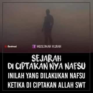 Kaligrafi Kontemporer Ustadz Poniman  Sombong, Pongah, dan Angkuhnya NAFSU ketika di Ciptakan Allah SWT 0