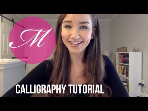 Download Video Calligraphy Tutorial – Capital M