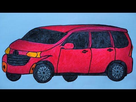 Download Video Cara menggambar mobil || Belajar menggambar mobil yang mudah || Belajar menggambar untuk pemula