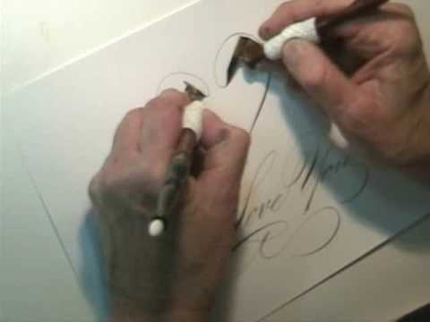 Download Video Dueling Pens Calligraphy