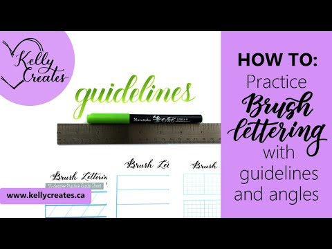 Download Video How to Angle Your Letters for Calligraphy