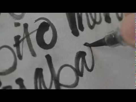 Download Video Oriol Miró Brush Calligraphy