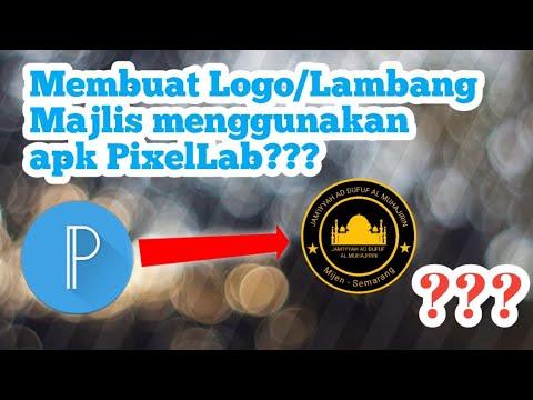 Download Video Tutorial Membuat Logo/Lambang Majlis Menggunakan aplikasi PixelLab