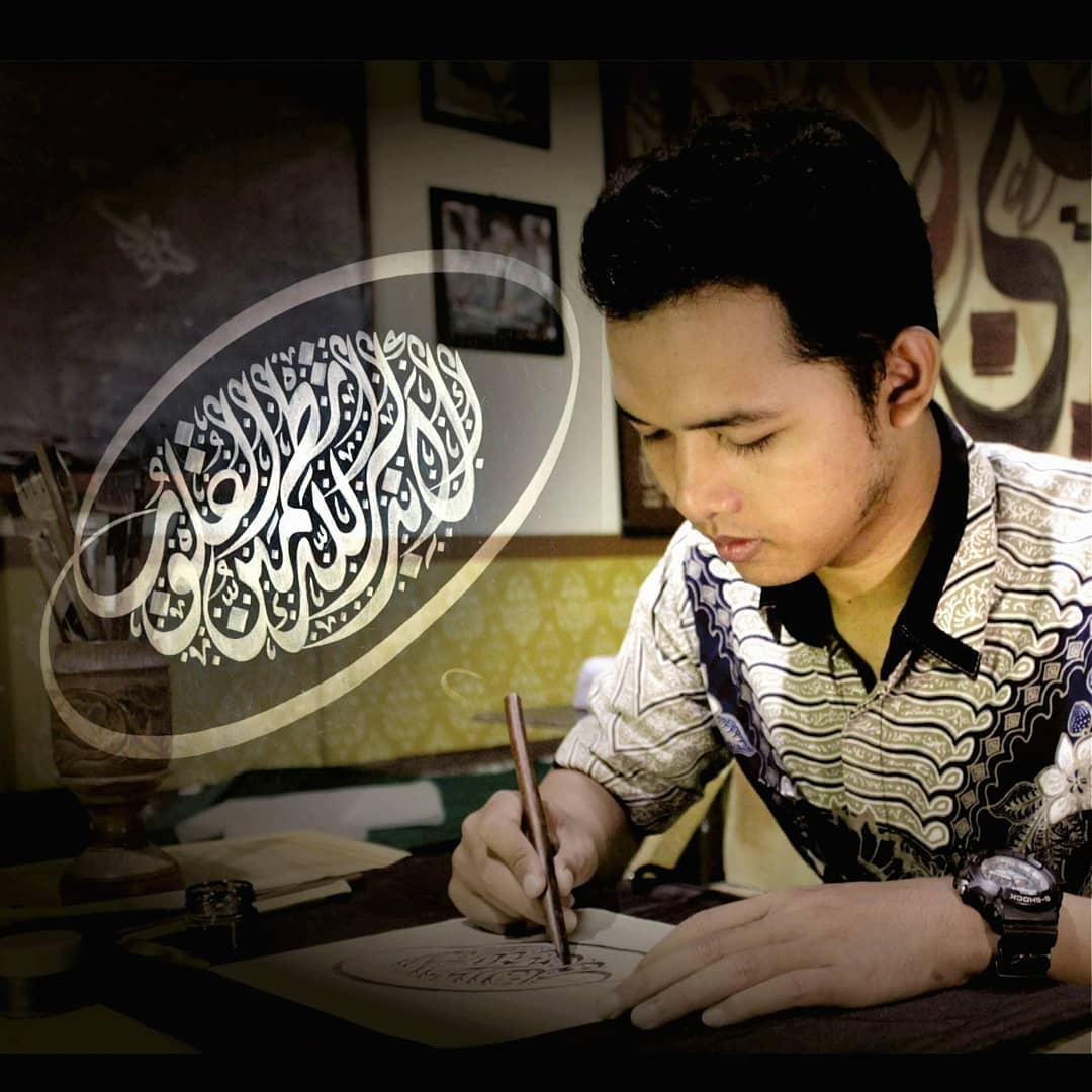Nafang Utama Kaligrafer Indonesia Sukses …. 234