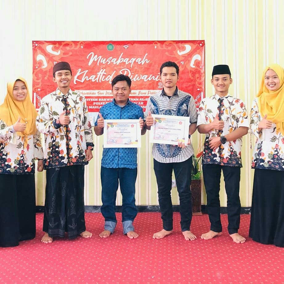 Nafang Utama Kaligrafer Indonesia Sukses Penjurian musabaqah khattid diwani (MKD) UIN Malang…. 166