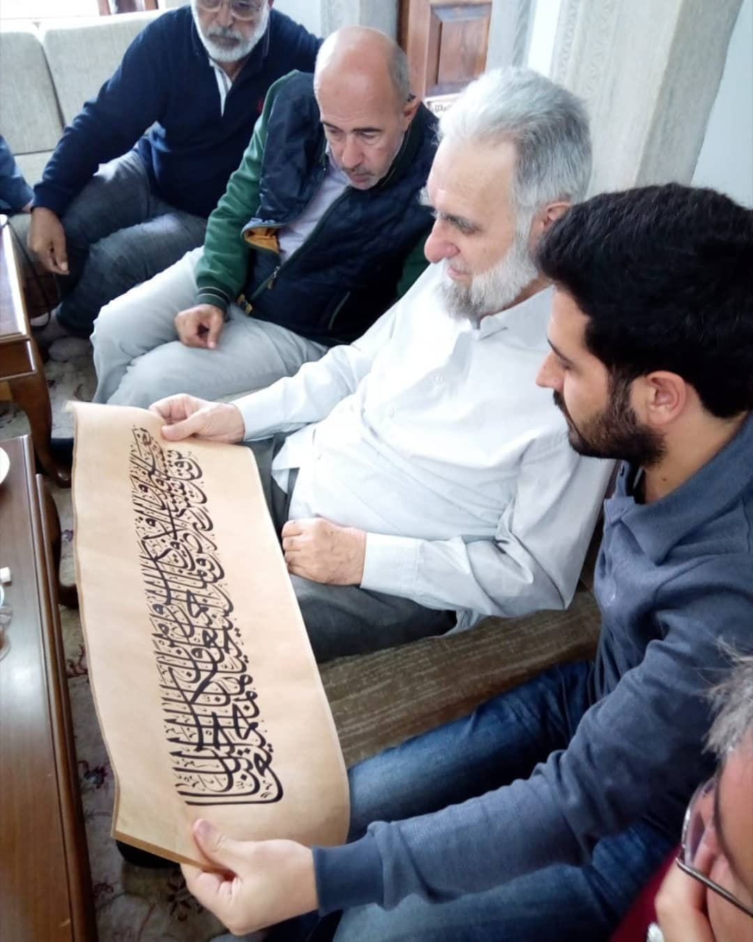 al kattat احمدعلی نمازی  . . . . . .#islamic #islamicart #artwork #calligraphy #hüsnühat #hattat #sülüs #… 472