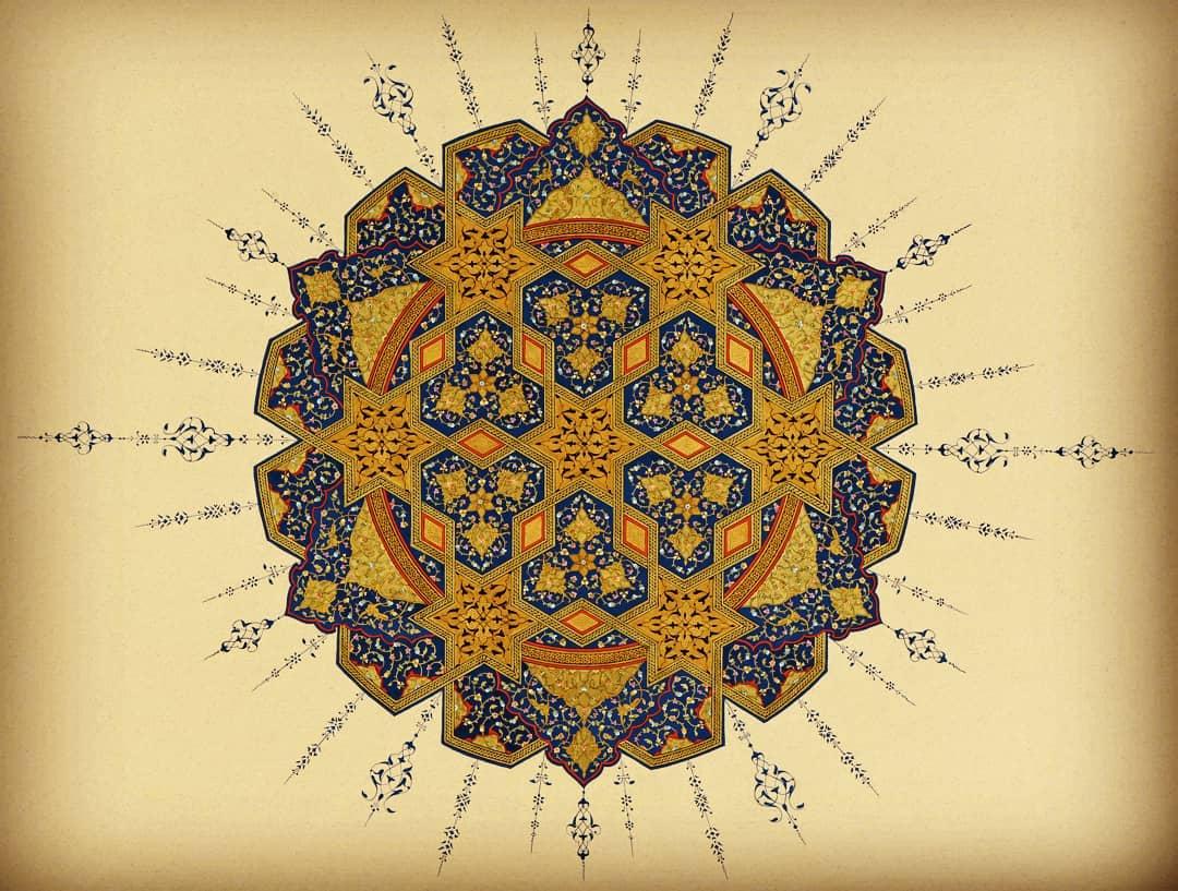 geleceginustalari Tezhip   Mukadder Çiçek (Ankara) (Gelecegin Ustaları 5 – Sergileme Ödülü) #gelec… 192