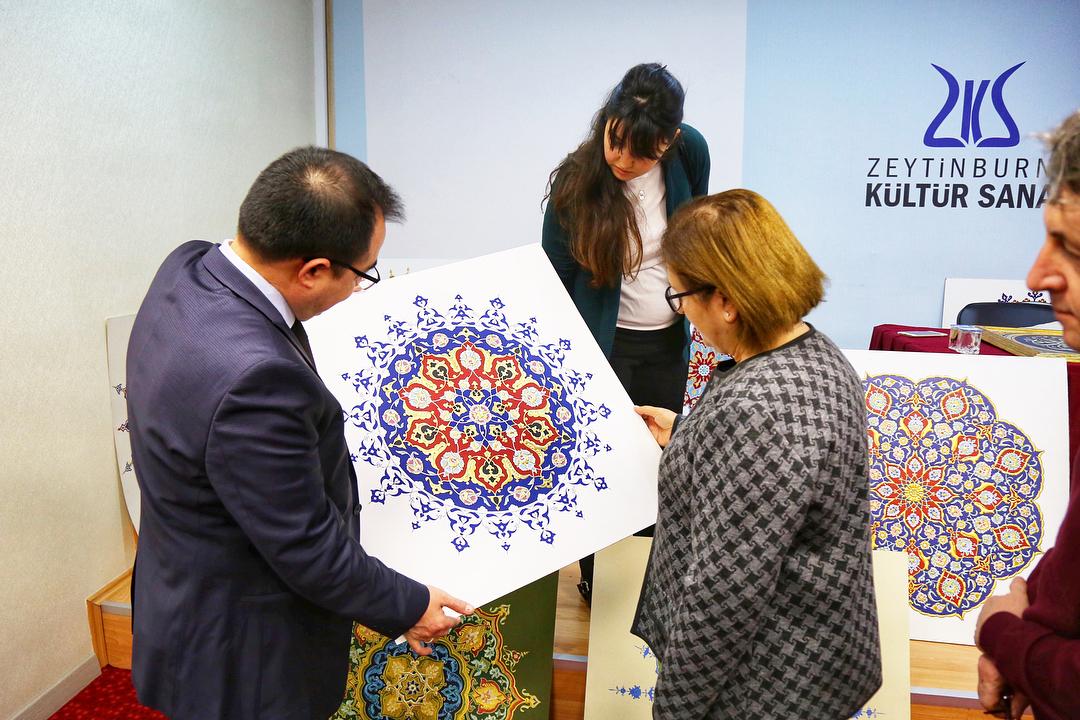 geleceginustalari Zeytinburnu Belediyesi 5. Geleneksel Sanatlar Tasarım Yarışması'nda Seçici Kurul… 256