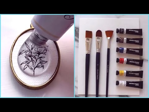 Download Video Amazing Art Skill Talented People #9 💕 Satisfying Drawing Watercolor! Best Calligraphy!  Lettering!