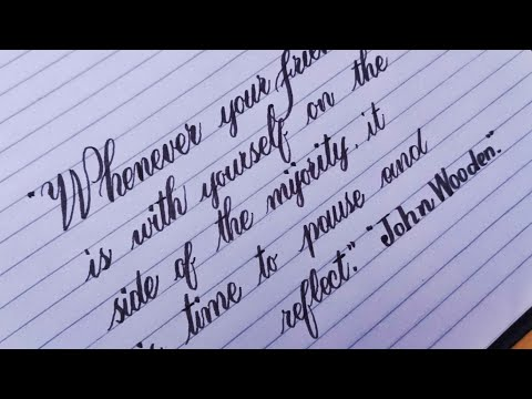 Download Video Beautiful Neat and Clean Cursive Joining Handwriting | Stylish Fancy Calligraphy