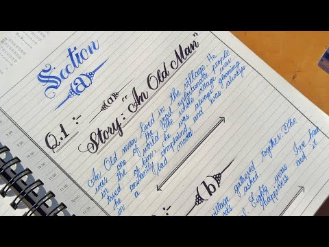 Download Video Calligraphy | paper presentation for 9th class | for Class 10th | Calligraphy